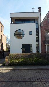 Modernist building, Antwerp