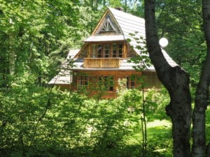 Zakopane Style cottage