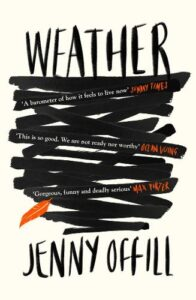 Cover image for Weather by Jenny Offill