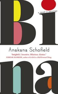 Cover image for Bina by Anakana Schofield