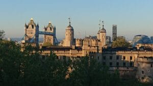 View from Blue Orchid Suites, Tower Hill