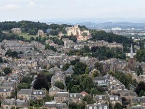 Edinburgh from Blackford Hill